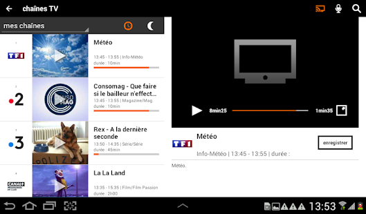 Download TV d'Orange, live-replay-vod For PC Windows and Mac apk screenshot 16
