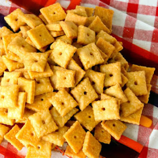 Homemade Whole Wheat Cheez-Its.
