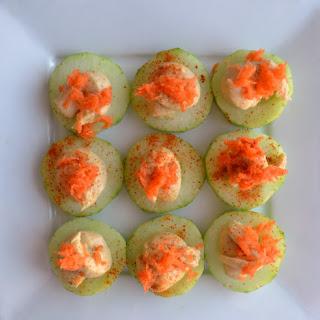 Sabra Hummus Cucumber Bites
