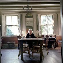 Photo: title: June Fitzpatrick, Portland, Maine date: 2011 relationship: friends, art, met through art world Portland years known: 15-20