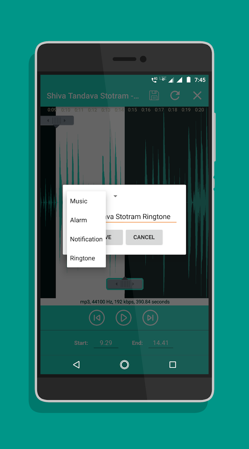 Ringtone Maker - Mp3 Cutter Screenshot 1
