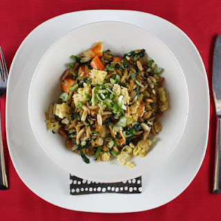 Susur Lee's Crab, Spinach, and Orzo Sauté