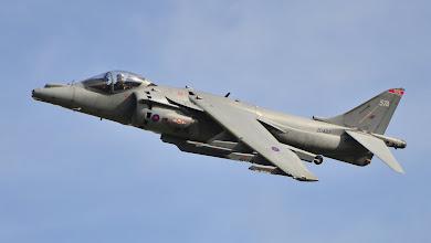Photo: Brytyjski pionowzlot Harrier