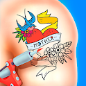 Tattoo Coloring Book icon