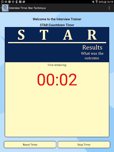 Interview STAR Timer Technique screenshot 6