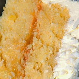 Nanny's Famous Coconut-Pineapple Cake.