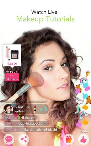 ... YouCam Makeup - Magic Selfie Makeovers screenshot 13 ...