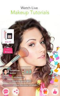Youcam makeup magic selfie makeovers apps on google play screenshot image solutioingenieria Image collections