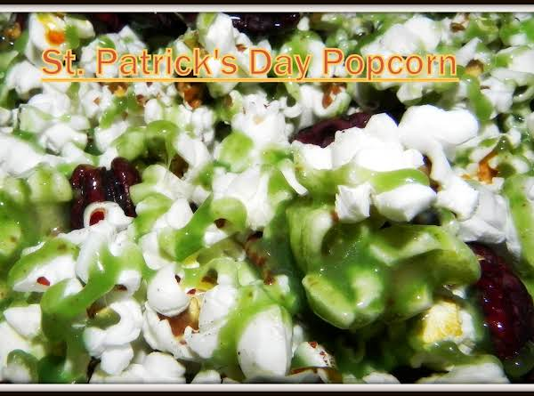 St. Patrick's Day Popcorn Recipe