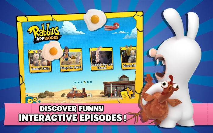Rabbids Appisodes- screenshot