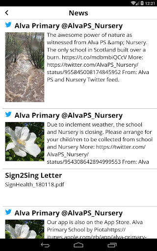 Alva Primary School  screenshots 11