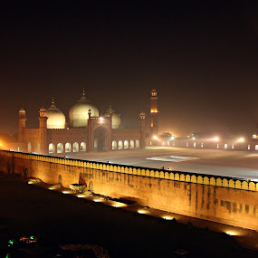 Royal Mosque Lahore by Awais Javed - Buildings & Architecture Public & Historical ( pakistan, old city lahore, lahore, royal, mosque, old city )