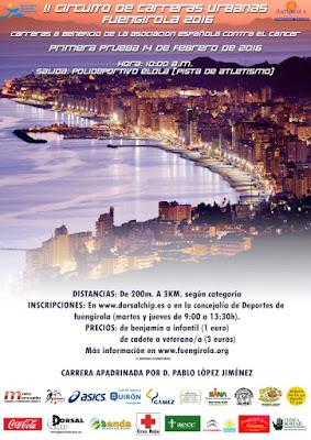 II Circuito de Carreras Urbanas de Fuengirola 2016