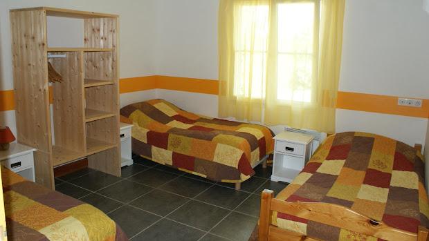 La Grange gîte accessible : chambre pour 2 ou 3 personnes