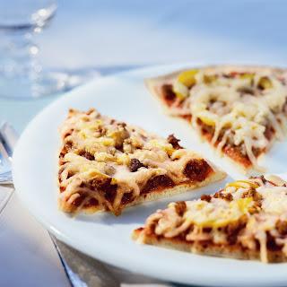 Herzhafte Pizza asciutta