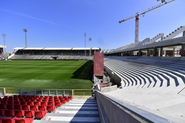 🎥  Opbouw Tribune 4 gaat goed vooruit bij Antwerp