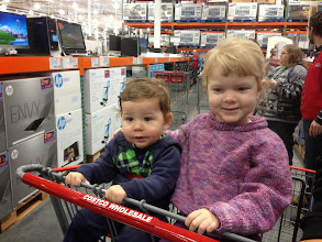 Photo: And of course, what's Christmas without at least one visit to Costco? :)