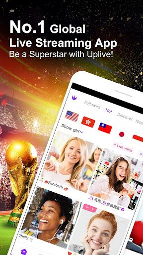 Uplive - Live Video Streaming App 3.2.2 screenshots 1