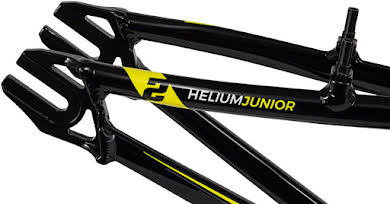"Radio Helium Junior Frame 18.6"" Top Tube Black alternate image 0"