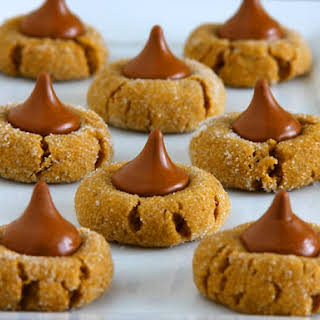 Peanut Butter Blossom Cookies.