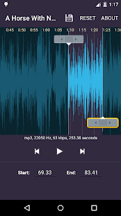 Ringtone Maker & MP3 Cutter Screenshot