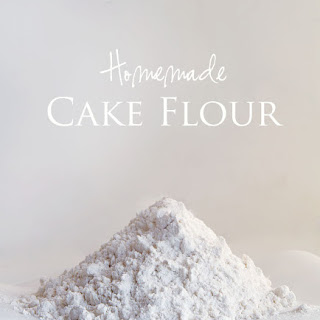 Homemade Cake Flour.