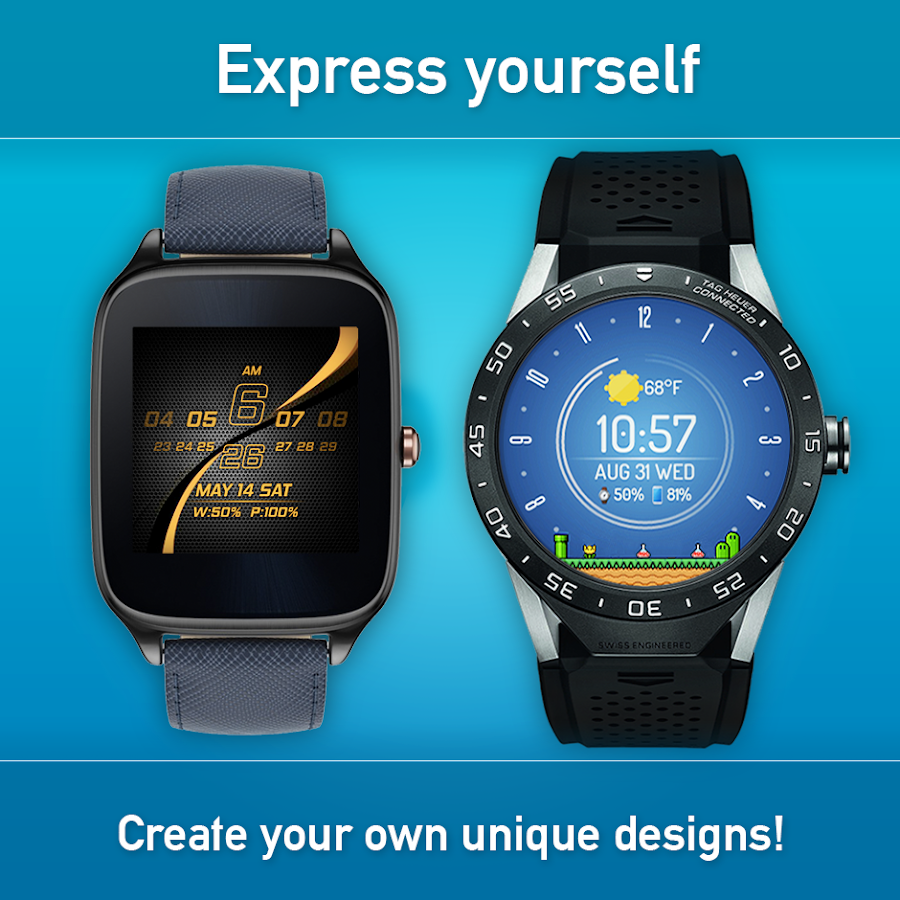 Watch face minimal elegant android apps on google play for Minimal art wrist watch