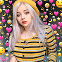Emoji Background Photo Editor icon