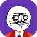 Rage Face Photo icon