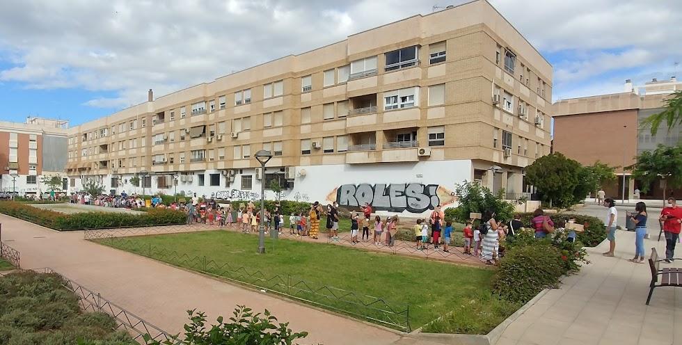 La actividad ha recorrido algunas calles del barrio de Nueva Andalucía.