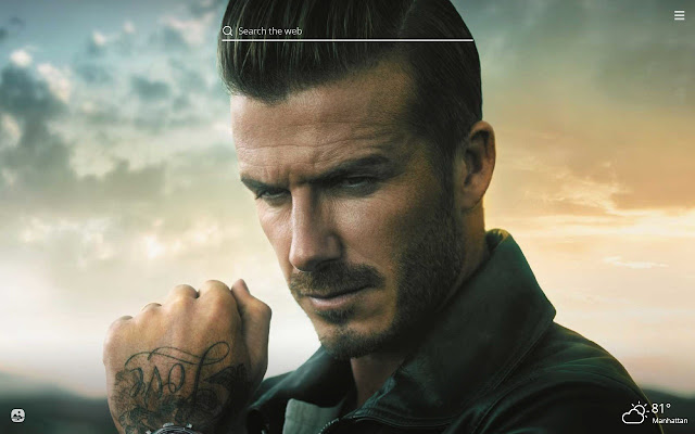 David Beckham HD Wallpapers New Tab Theme