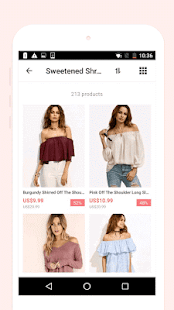 Romwe shopping-women fashion- screenshot thumbnail