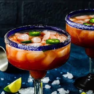 Spicy Salsa Margarita.
