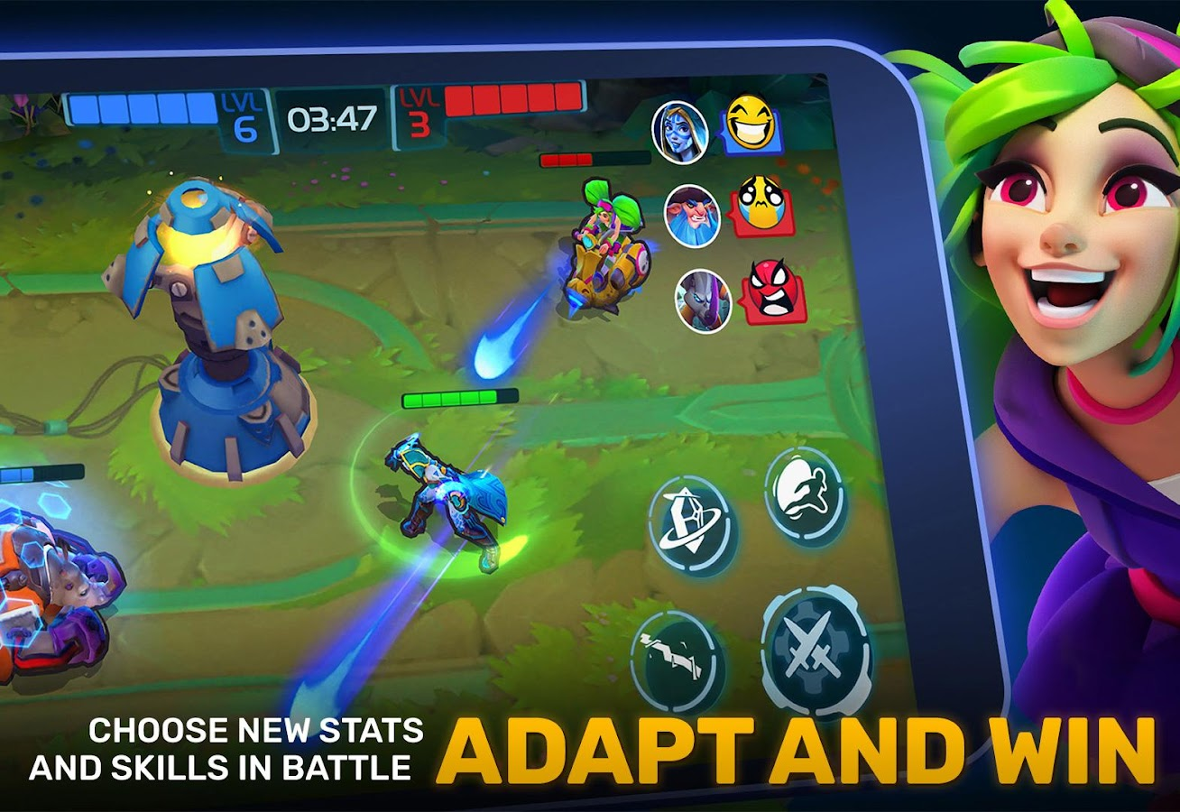 Planet of Heroes – MOBA evolved to Mobile Action- screenshot