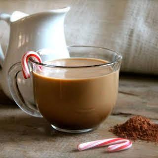 Peppermint Mocha Coffee Creamer.