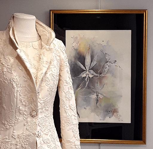 Jeanne PAPA aquarelles_jeux de dames 2019_vitrine Cario _01