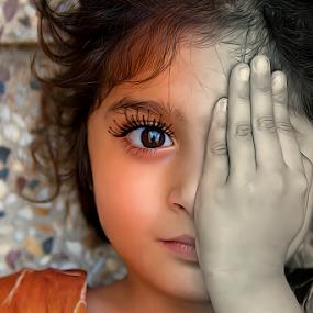 simplicity  by Kamran Khan - Digital Art People ( love, portraiture, swat photography, simplicity, kids, kami.pk, portrait, kids portrait, eyes )