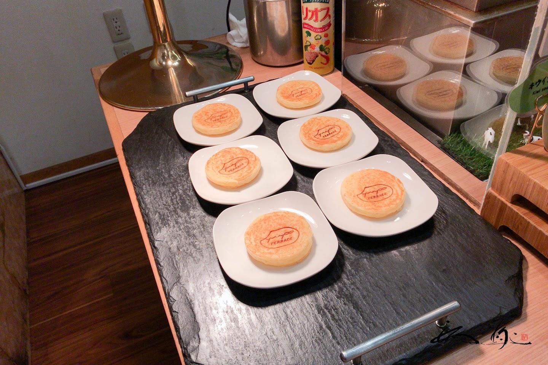 玄米粥入りパンケーキ