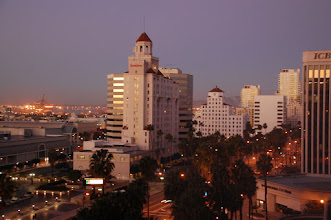 Photo: View from our room at the Westin, Long Beach, CA