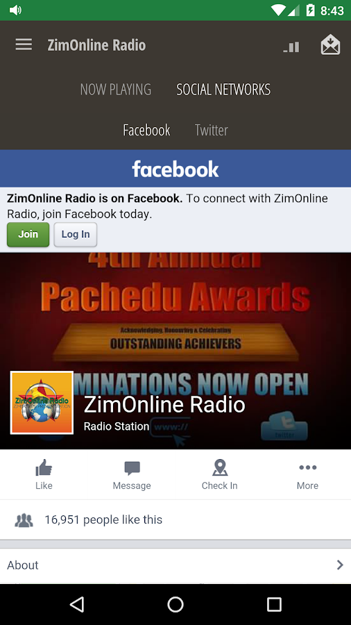 ZimOnline Radio- screenshot