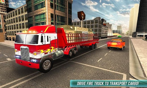 Flying Robot Firefighter Truck Transform Game Android Apps On
