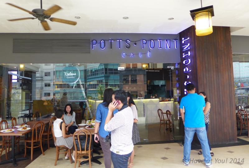 Potts Point Cafe storefront