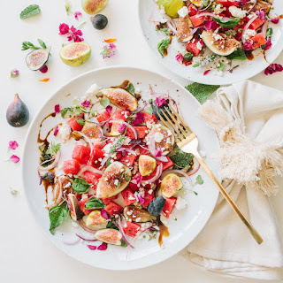 Eats- Summer Fig Watermelon Salad with Feta