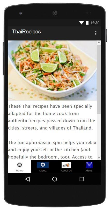 Thai Recipes- screenshot