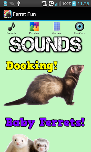 Ferret Games Sounds