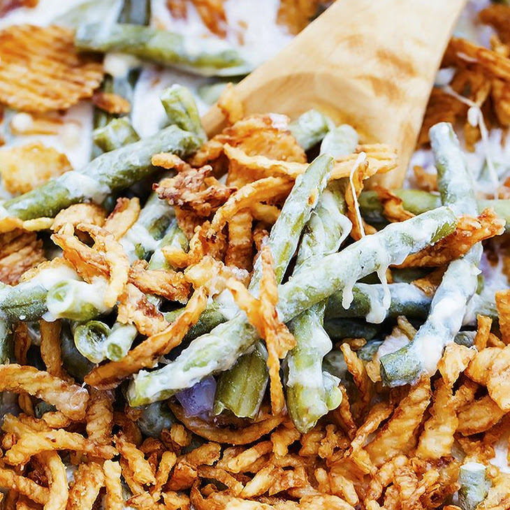 Slow Cooker Green Bean Casserole Recipe