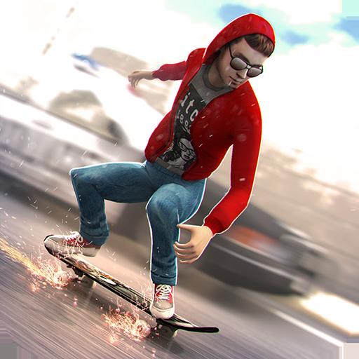 酷 滑板 邁阿密 街 警察 - 滑板 遊戲 體育競技 App LOGO-APP開箱王