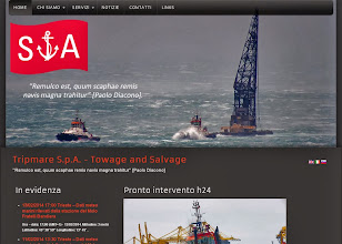 Photo: 2013 - Tripmare S.p.a. - Towage and Salvage www.tripmare.it
