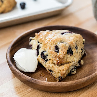 Blueberry Honey Scones.