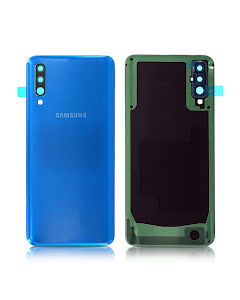 Galaxy A50 Back Cover Blue